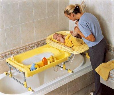 Cuántas cosas necesita un bebé! Cap.2 : La bañera y el cambiador ...